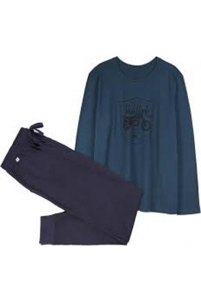 Пижама мужская ATLANTIC NMP-306