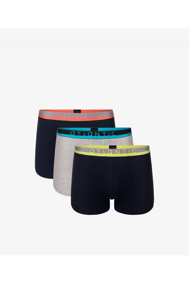 Трусы мужские шорты ATLANTIC 3MH-001(3шт.) - LeConfort