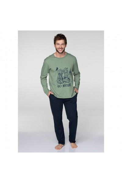 Пижама мужская KEY MNS-075 B19