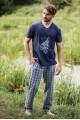 Пижамные штаны KEY MHT-444 A19 - LeConfort