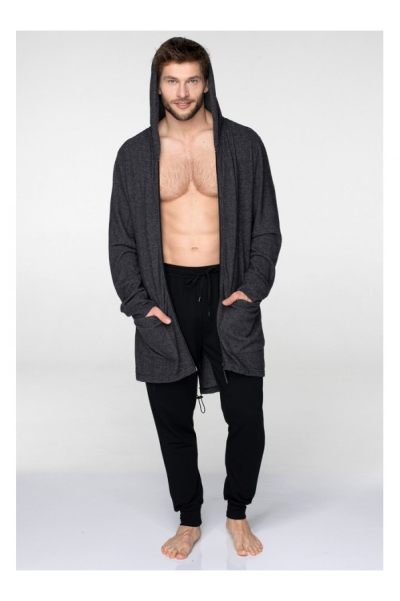 Спортивная мужская блуза KEY MHM-013 B 19 - LeConfort