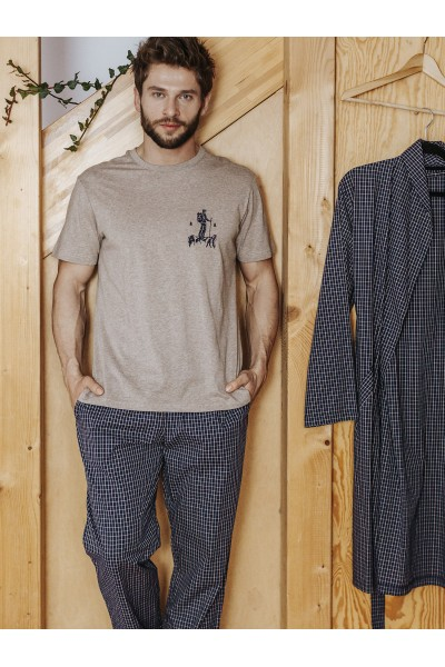 Пижама мужская KEY MNS-043 B19