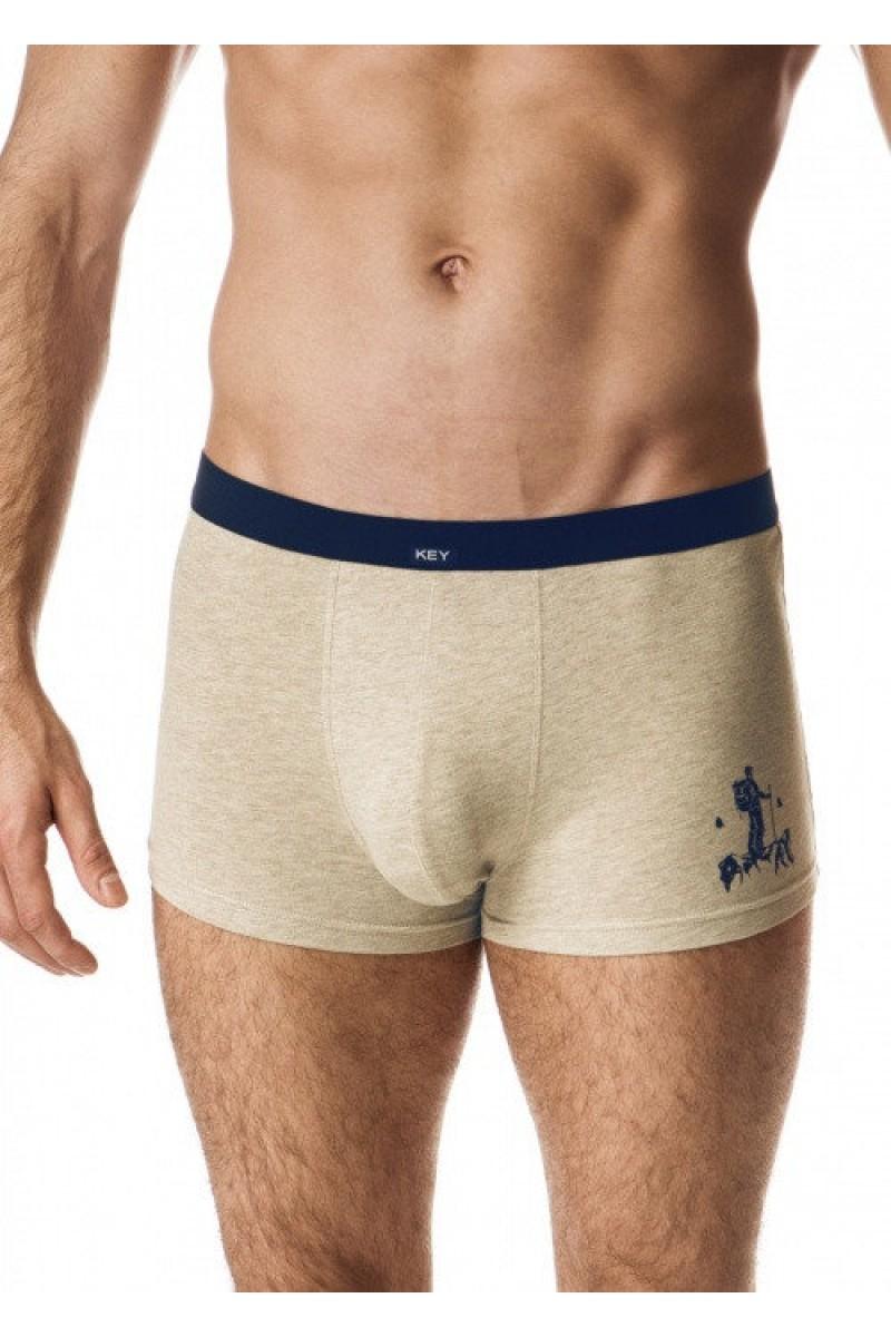 Трусы мужские шорты KEY MXH-043 B19 - LeConfort