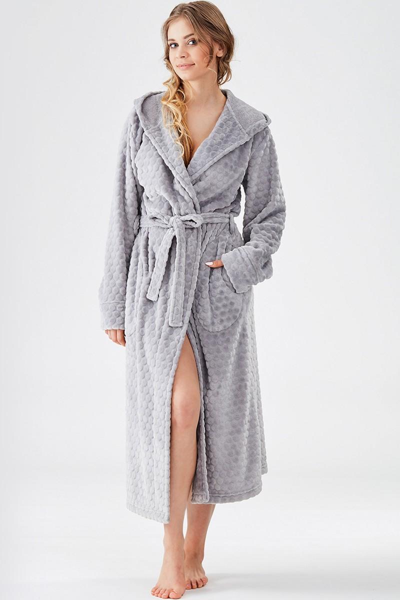 Домашний халат женский KEY LGL-179 B8