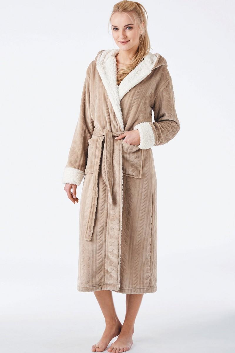 Домашний халат женский KEY LGL-288 B8