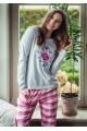 Пижама женская KEY LNS-429 B8 - LeConfort