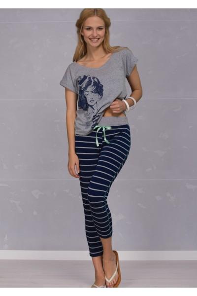Пижама женская KEY LHS-336 A6