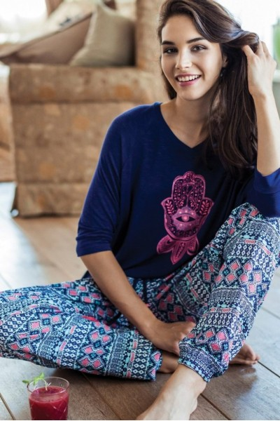 Пижама женская KEY LHS-884 A7