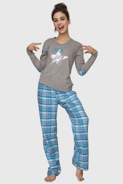 Пижама женская KEY LNS-081 B6