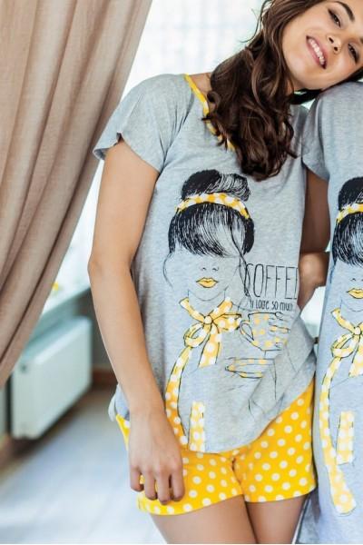 Пижама женская KEY LNS-624 A7