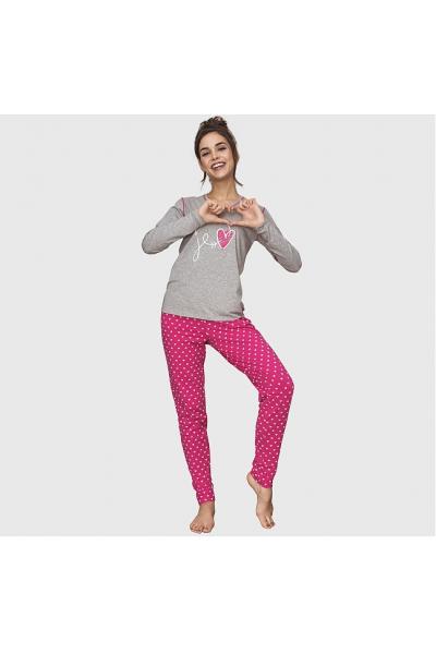 Пижама женская KEY LNS-651 B6