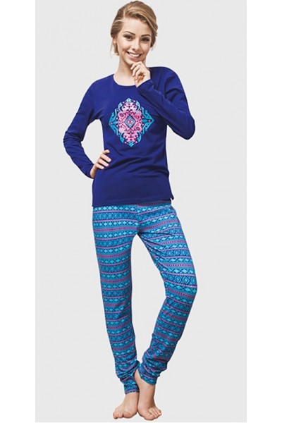 Пижама женская KEY LNS-871 B6