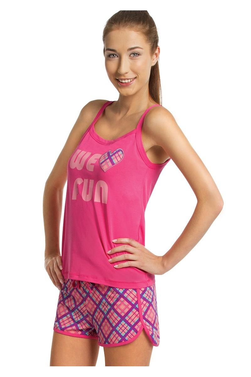 Пижама женская KEY LNS-468 A5 - LeConfort