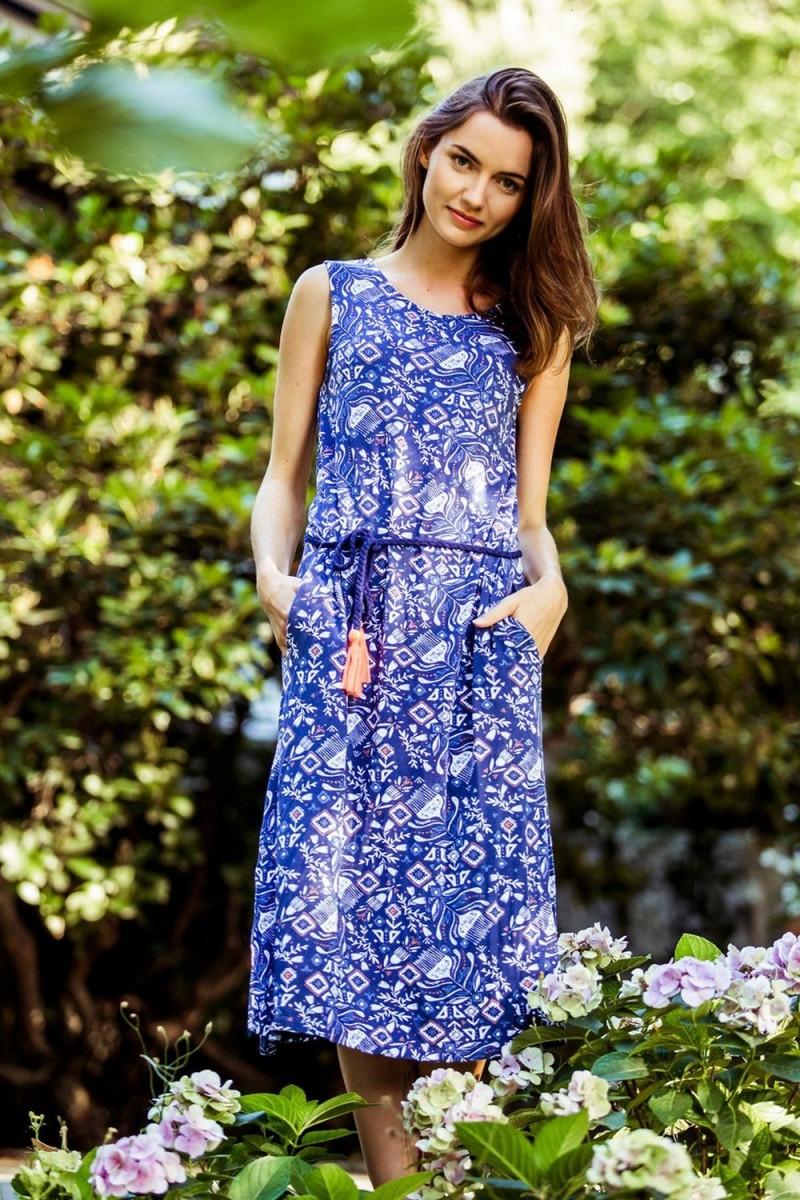 Пляжное платье женское KEY LHD-891 A8