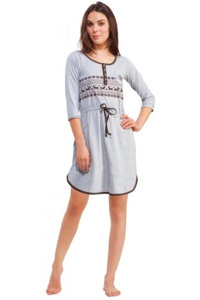 Домашняя рубашка женская KEY LHD-916 B3
