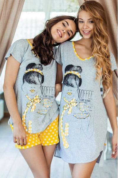 Ночная рубашка женская KEY LND-624 A7