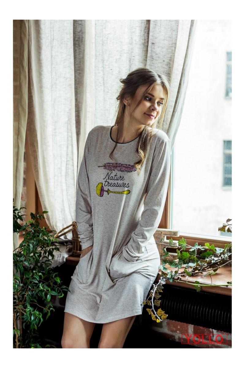 Ночная рубашка женская KEY LND-828 B7 - LeConfort