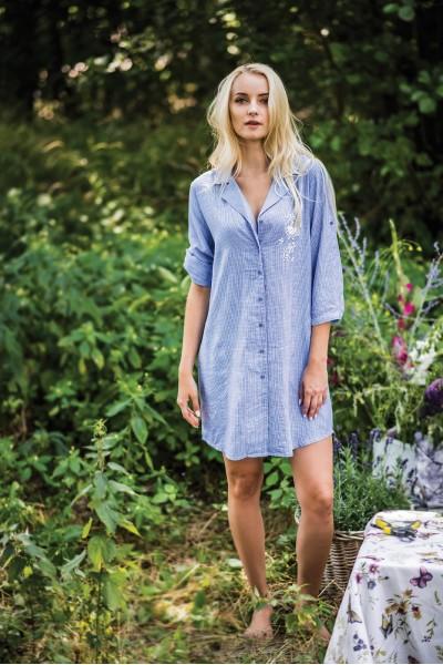 Домашняя рубашка женская KEY LHD-465 A19