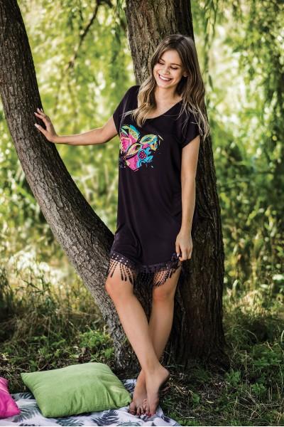 Домашняя рубашка женская KEY LHD-507 A19