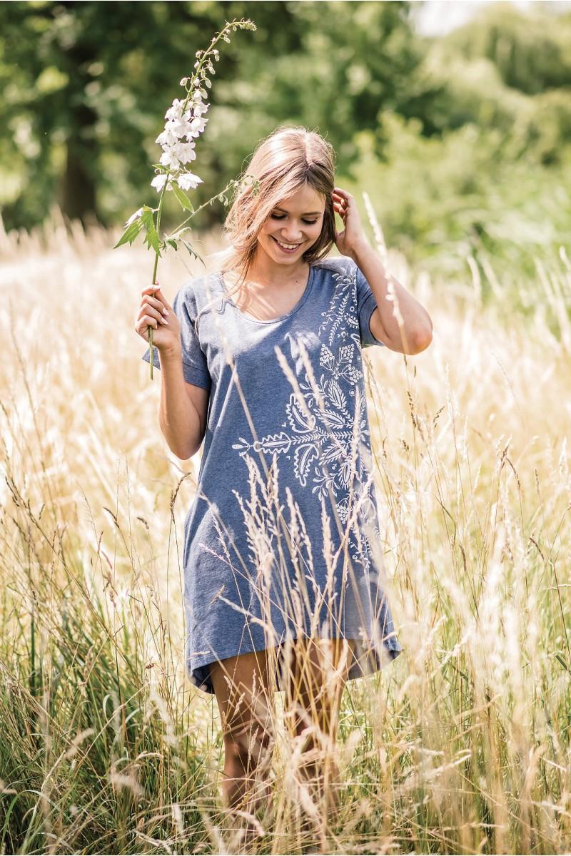 Домашняя рубашка женская KEY LHD-745 A19