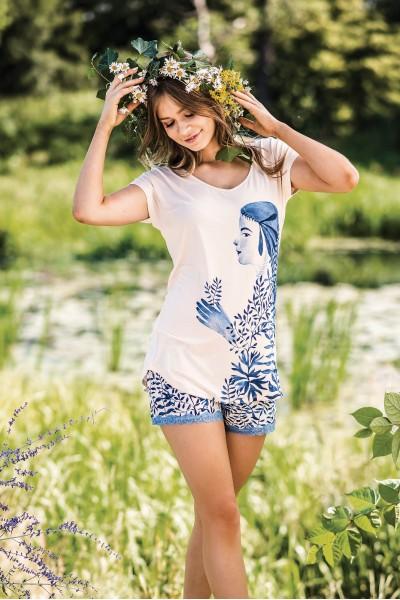 Пижама женская KEY LNS-052 A19