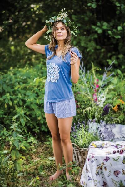 Пижама женская KEY LNS-465 1  A19