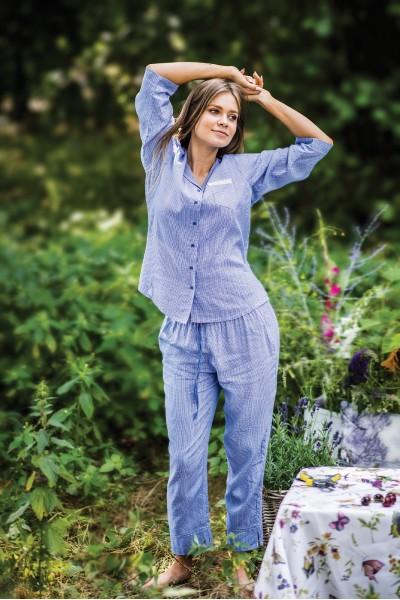 Пижама женская KEY LNS-465 2  A19