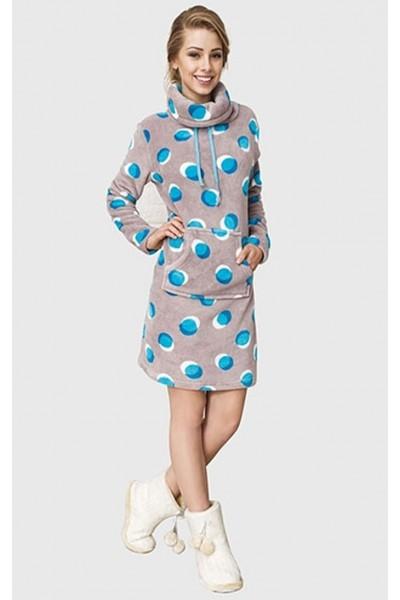 Домашняя рубашка женская KEY LHD-054 B6
