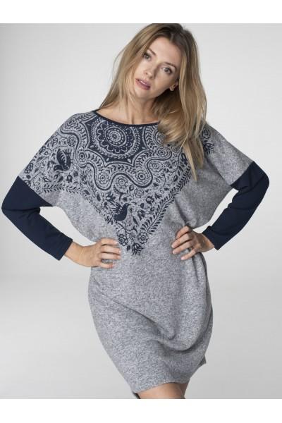 Домашнее женское платье KEY LHD-081 2 B19