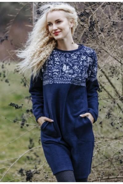 Домашнее женское платье KEY LHD-082 B19
