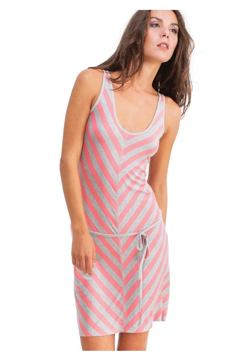 Домашняя рубашка женская KEY LHD-373 A4