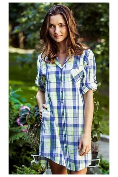 Домашняя рубашка женская KEY LHD-470 A8
