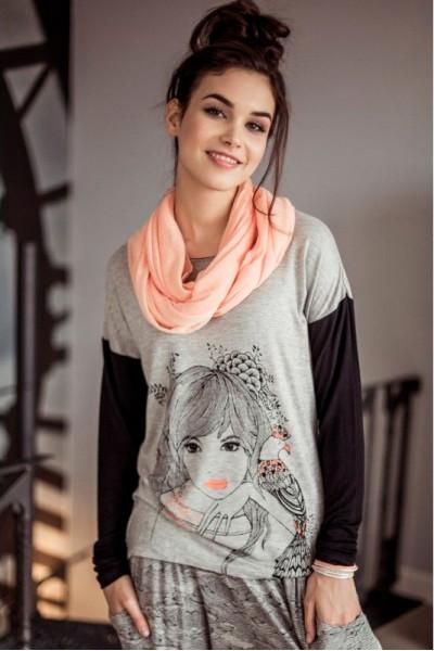 Пижама женская KEY LHS-804 B6