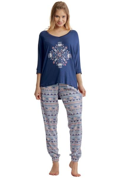 Пижама женская KEY LHS-830 A8