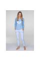 Пижама женская KEY LNS-803 B19 - LeConfort