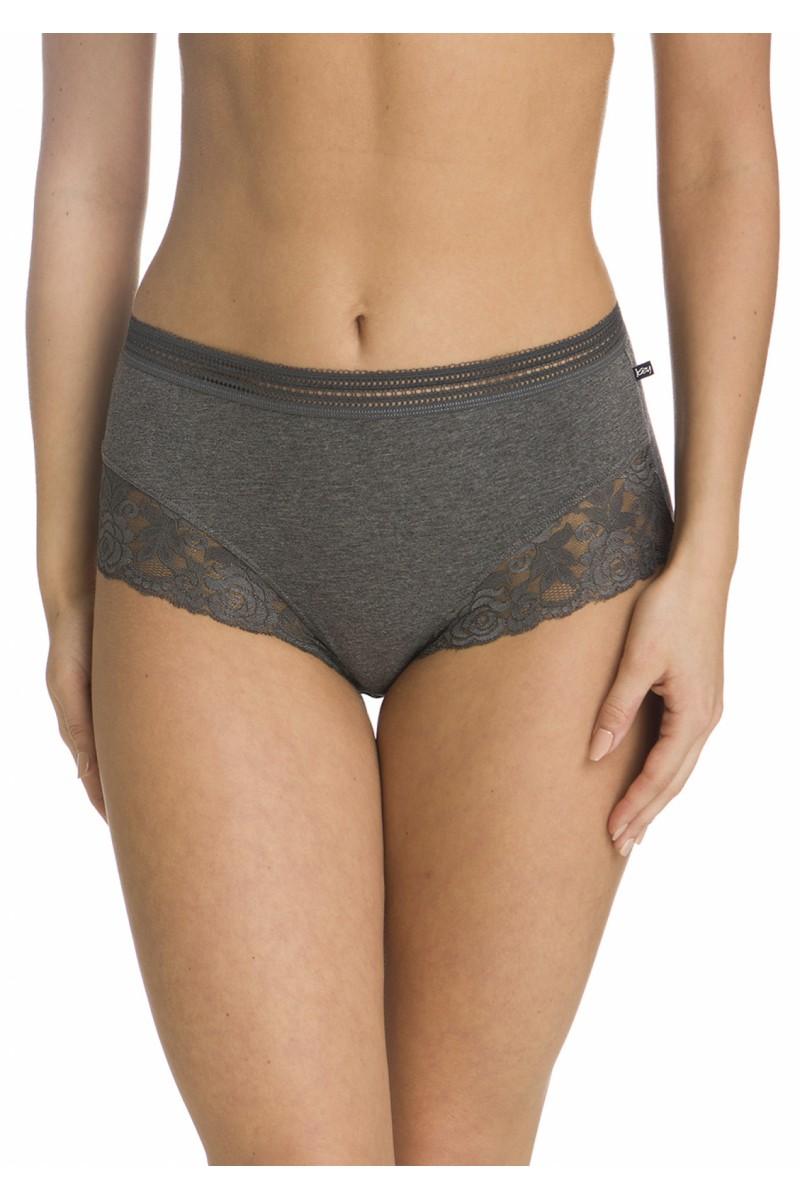 Трусы женские бикини с завышенной талией KEY LPF-244 B19 (2шт.) - LeConfort