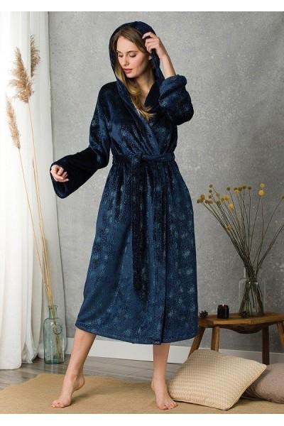 Домашний халат женский KEY LGL-116 B20