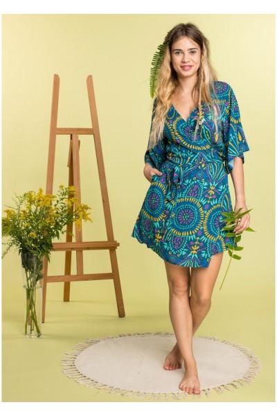 Домашнее платье женское KEY LHD-905 А20