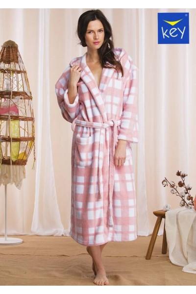 Домашний халат женский KEY LGL-426 B21
