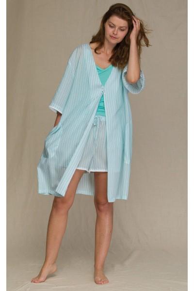 Домашний халат женский KEY LHD-316 А21