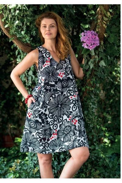 Домашнее платье женское KEY LHT-945 А21