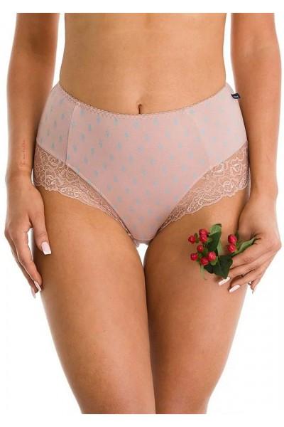 Трусы женские бикини с высокой талией KEY LPF-728 A21 (2шт.) - LeConfort